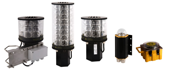LED Obstruction Lights - Aircraft Warning Lights